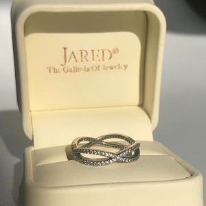 FINAL PRICE - Pandora Crossing Paths Infinity Ring